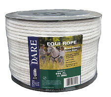 Electric Fence Rope White Polyethylene With Stainless Steel Wire 564 In X