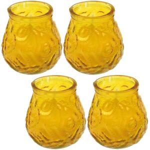 4-Stueck-Anti-Insekten-Kerzen-Citronella-im-huebschen-Glas-gegen-Muecken-7-x-4-5-cm
