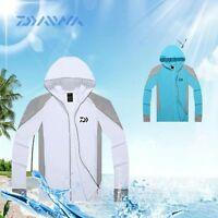 Daiwa Fishing Shirt Clothes Uv Protection Breathable Long Sleeve Free Shipping