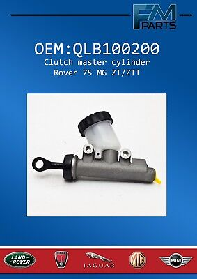 STC100156 OE PART ROVER 75 MGZT CLUTCH MASTER CYLINDER New /& Genuine LHD