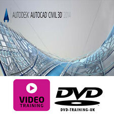 Autodesk AutoCAD Civil 3D 2014 – Professional Video Training Tutorial DVD