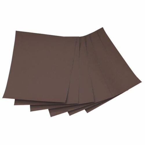 """TTC 9/""""x 11/"""" 1200 Grit Abrasive Crocus Cloth Sheets Pk//100"""