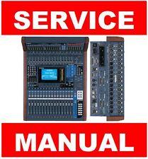 Yahama DM1000 MB1000 SP1000 Mixer Service Manual and Repair Guide