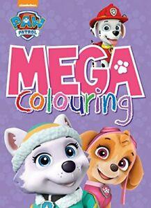nickelodeon paw patrol mega colouringparragon book the fast free shipping 9781474885546 | ebay