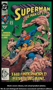 Superman-The-Man-of-Steel-17-DC-1992-Newsstand-Edition-Doomsday-Cameo