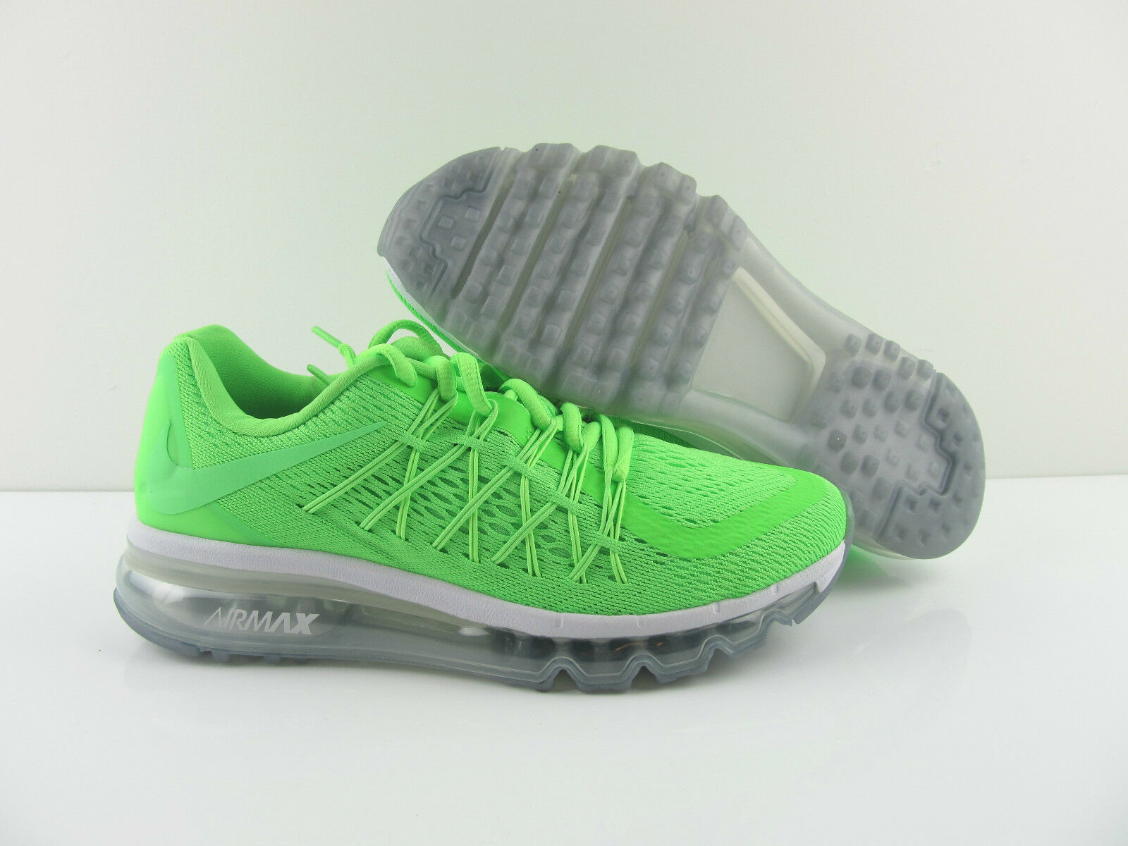 Nike Air Max 2015 Green Voltage Running Sneaker Schuhe New Eur 37.5  38.5