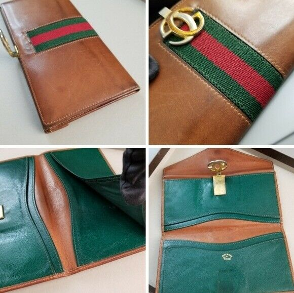 GUCCI  Beautiful  Vintage Classic Gucci wallet - image 10