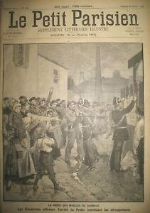 MINE-TARN-CARMAUX-GREVES-DES-MINEURS-ET-GENDARMES-LE-PETIT-PARISIEN-1892