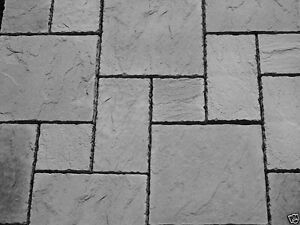 Image Is Loading Charcoal York Paving Concrete Patio Slabs 10sqm