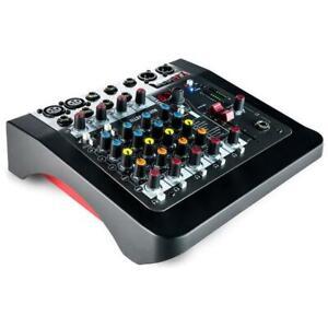 Allen-amp-Heat-ZED-6FX-Mixer-Compatto-a-6-Canali-con-DI-per-Chitarra-con-Effetti