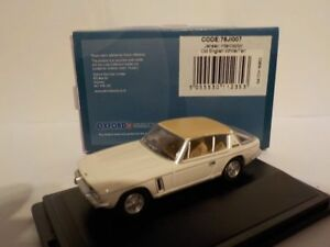 Jensen-Interceptor-Bianco-Tan-modellini-di-automobili-Oxford-Diecast