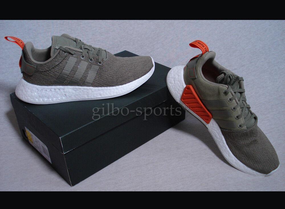 Adidas Originals NMD_R2 40 Olive Green White Gr. 40 NMD_R2 2/3 42 2/3 43 1/3 44 Neu BB6846 6e16a1