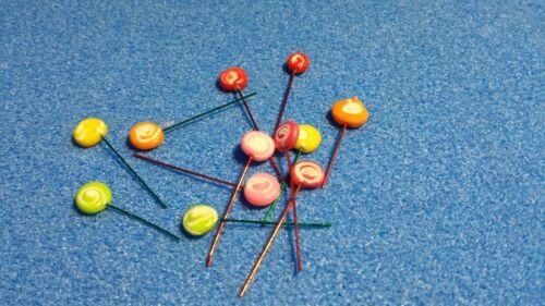 1//12 scale Dolls House Food    12 Lollipops       DHDLP4
