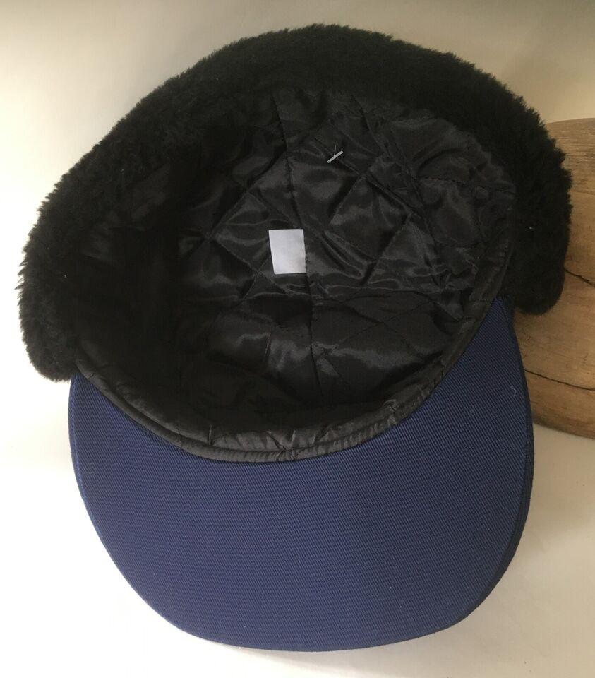 Mørkeblå Vinter Cap / Kasket str. 58