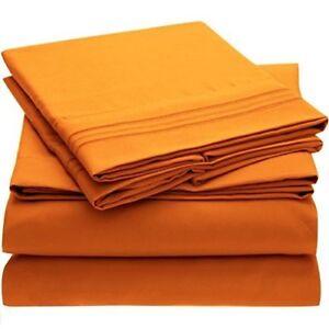 c785dab2d4 Ideal Linens Bed Sheet Set - 1800 Double Brushed Microfiber Bedding ...