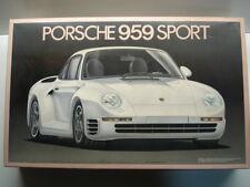 Fujimi Vintage 1/16 Scale Porsche 959 Model Kit - Super Rare - New - Kit # 10111