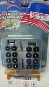 Greenlight V-Dub Exclusive Wheel /& Tires Multipack set de jantes NG25-26