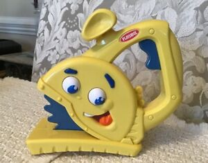 Details about Playskool Cool Crew SAWYER THE CIRCULAR SAW - Talks Moving  Eyes Realistic Sounds