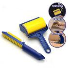 2Pcs/set Sticky Buddy Picker Cleaner Lint Roller Pet Hair Remover Brush Reusable