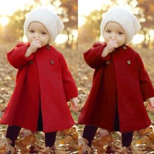 ebe709472 Toddler Infant Kids Baby Girls Fall Outerwear Long Windbreaker Cloak ...