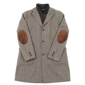 VGC-TOMMY-HILFIGER-Wool-Overcoat-Mac-Trench-Duffle-Pea-Woolen-Vintage-Coat