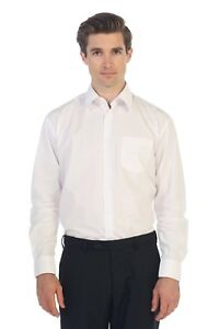 Men/'s Short Sleeve Dress Shirt Solid Classic Fit Button Up Size S,2XL 5XL New