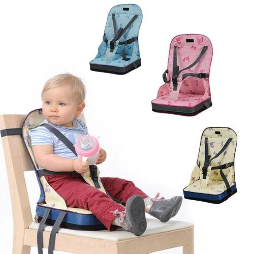 Faltbare Kinder Sitzerhöhung Baby Stuhlsitz Hochstuhl Reisestuhl von 10 Monate