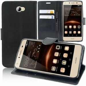 Housse-Etui-Coque-Portefeuille-Support-Video-cuir-PU-Pour-Honor-6C
