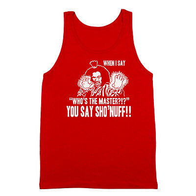 Who/'s The Master You Say Sho/'nuff  Last Dragon Black Crewneck Sweatshirt