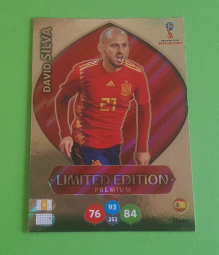 Panini Adrenalyn World Cup Russia 2018 World Cup Limited Edition choose Choose