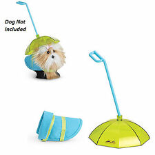 American Girl MY AG PET RAIN GEAR for Dog Retired Umbrella Accessories NEW