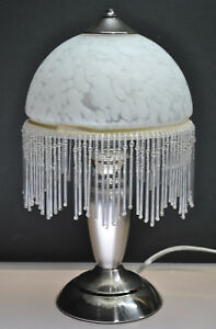 Image Is Loading Desk Table Lamp With Cloud Design Shade Dim