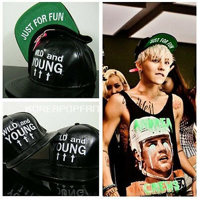 G-DRAGON GD SOL D-LITE VI  BIGBANG T.O.P WILDANDYOUNG CAP KPOP NEW