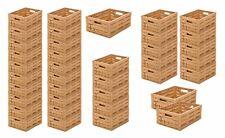 5 Geschirrkiste Lagerbox Catering Kiste E2 schwarz 60x40 cm neu Gastlando