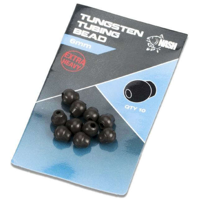 Nash Tungsten Oval Beads Oval beads NEW Chod Beads tungsten carp fishing