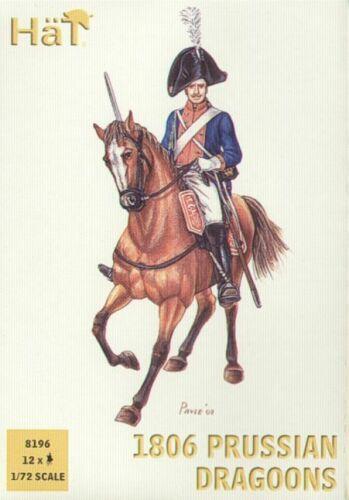 Hat 8196 1:72 Napoleonic 1806 Prussian Dragoons