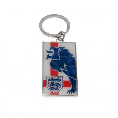 England Football m FA Keyring St Georges Flag English Foot ball Crest Fan New