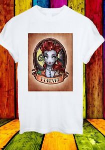 Sally-Nightmare-Before-Christmas-SHOCK-carattere-Uomini-Donne-Unisex-T-shirt-799