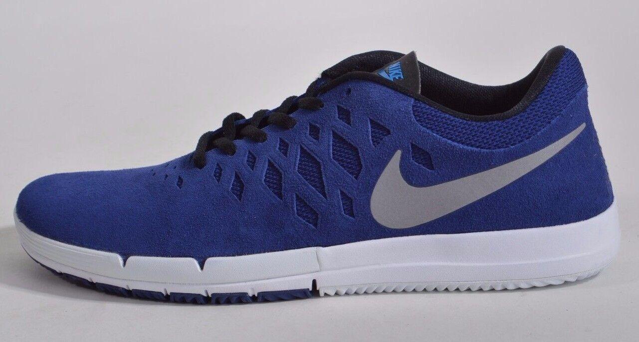 2015 Neuf dans sa boîte Homme Nike Libre SB Chaussures 120 10.5   Profond Bleu Royal Argent Métallisé