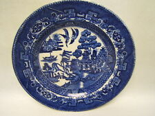 "Hulz & Adderley Circa 1869 ""Blue Willow"" China Plate 8 1/4"" England  GUC"