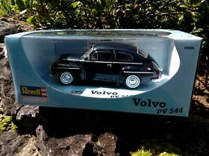 Modellauto-1-18-Revell-08886-Die-Cast-Volvo-PV-544-dunkelblau