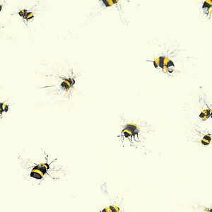 Bees Wallpaper Designed By Clare Brownlow 1wall Feature
