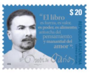 (2016) Rubén Darío. Unique Timbre. Neuf Sans Charnière. Excellent état.-afficher Le Titre D'origine Exquis (En) Finition