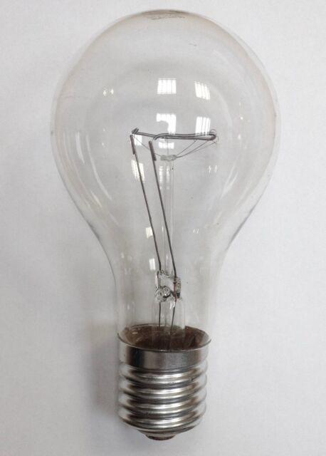 1 x Glühbirne 500W Klar E40 230V Glühlampe Glühlampen Glühbirnen 500 Watt NEU !