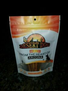 """Desert Dog Products Bully Sticks (10 pack - 6"""" Small Beef Pizzle)"""
