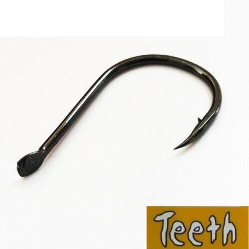 16 by 35 Hooks teeth profesional iseama black nickel no