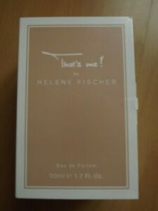 Damen Eau de Parfum That's me by Helene Fischer 50 ml - neu - Weferlingen, Deutschland - Damen Eau de Parfum That's me by Helene Fischer 50 ml - neu - Weferlingen, Deutschland