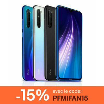 Xiaomi Redmi Note 8 4Go 64Go Téléphone 48MP Smartphone Version Globale Octa-core