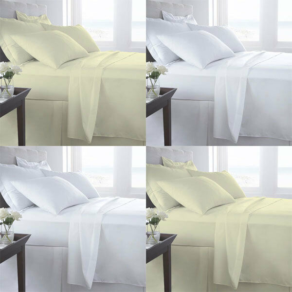 Night Zone 100% Egyptian Cotton 800 Thread Count Fitted Sheet