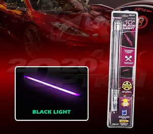 10 interior accent tube light 12v black light pilot automotive cz 190bl ebay. Black Bedroom Furniture Sets. Home Design Ideas